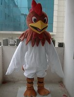 Wholesale New Rooster Cock Fancy Dress Mascot Costume Adult Size Valentine s Day Thanksgiving Day Christmas Halloween