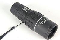 Cheap 2015 The new 16x52 HD single adjustable monocular telescope green film LLL night vision free shipping