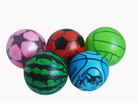Wholesale 2014 Brand New Inflatable Watermelon29799 CM Ball Toys Inflatable Thickening Five Colors Not