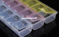 Wholesale High quality Day Tablet Pill Storage Box Weekly Medicine Organizer Container Holder Case