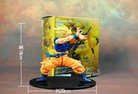 Wholesale Hot Sale Japanese anime Dragon Ball Z cm inch Son Goku PVC action figure for kid toy gift