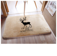 bathroom stories - 2015 carpets rugs Drama story living room with the original design of the home coral velvet mats mixed batch