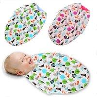 Wholesale New Swaddleme Organic cotton infant parisarc newborn thin baby wrap envelope swaddling swaddle Sleep bag Sleepsack DP674265