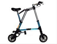 Wholesale The new bao jie type A mini folding bicycles electric cars