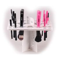Wholesale Cosmetic Organizer dry brush holder organizer cosmetic brush accessories aside hang tools organizer for makeup brushes