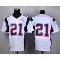 american receiver - 2015 Super Bowl XLIX Champions Jersey New Draft Wide Receiver White Elite American Football Jerseys Top Selling Athletic Uniform Wears