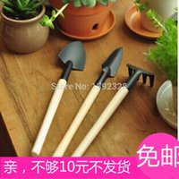 Wholesale Mini three piece shovel rake shovel garden tool balcony gardening gardening tool set home grown