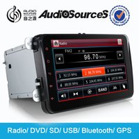Wholesale car dvd vw tiguan navigation system With Canbus SWC IPAS OPS G CPU Gps Navigatoin RDS