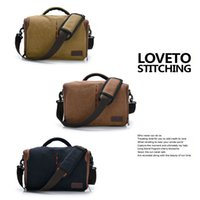 Wholesale Travel Camera Bags Canvas Material Durable and Portable Cross Body Professional Camera Shoulder Bag for Sale Online