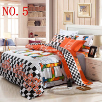 Wholesale Cheap beautiful cotton designer bedding sets twin full queen king size bed linen sheet set