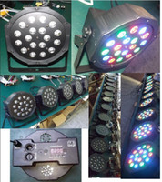 Wholesale 18pcs led par lighting led stage lighting mini led par lights