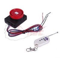 antitheft alarm - Security Alarm For Motorcycle AntiTheft Sensitive Far Distance MAX m dB MHz Black and Red SETS