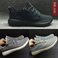 Wholesale Men Yeezy Boost Low Sneakers Running Shoes for Men Pirate Black Moonrock Grey Oxford Tan White With Box Mix Order Accept
