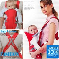 backpack front strap - Christmas Baby Carrier Sling in1 Portable Front Carrying Strap with Double Cross Shoulders Soft Cushion Child Infant Backpack kids Sling