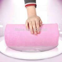 arm rest cushion - 2014 New Soft Nail Art Hand Holder Cushion Pillow Nail Arm Rest Manicure Tools