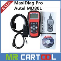 maxidiag jp701 - AUTEL MaxiDiag Pro MD801 Scan Tool in Code Scanner MD JP701 EU702 US703 FR704 DHL