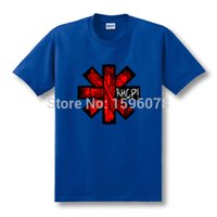 alternative music t shirts - New Fashion Red Hot Chili Peppers Funk Punk Rap Alternative Rock And Roll Games T Shirt Top Tees Black Rock Music T Shirt