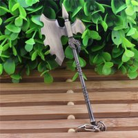 axe holder - Hot Sale LOL KeyChain Pendant Key Ring The Wuju Bladesman War Axe Holder keychain