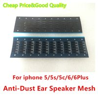 Wholesale For iPhone plus quot inch g s c S S plus g s Top Ear Speaker Dust Grill Mesh High Quality