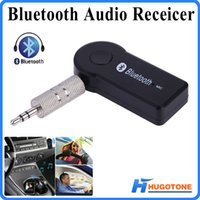 Wholesale Universal mm Streaming Car A2DP Wireless Bluetooth Dongle AUX Music Audio Receiver Adapter with Microphone for Phone MP3 Notebook PSP