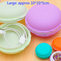 Cheap Free Ship 20pcs Large 10*10*5cm Macaron Box Cable Jewelry Box Gift Earrings Rings Necklaces Wedding Storage Box