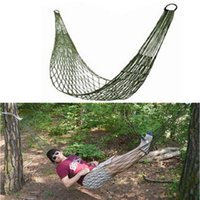 Cheap Feitong Portable Nylon Hammock Hanging Mesh Sleeping Bed Swing Outdoor Camping Free Shipping&Wholesales