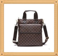 Wholesale High Quality men messenger bag fashion PU leather male shoulder bag casual briefcase fashion laptop bag