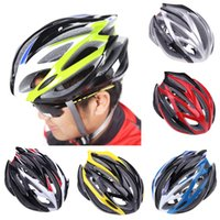 bicycle cogs - Vents Ultralight Sports Cycling Helmet with Lining Pad Mountain BMX Cog Bike Bicycle Cycle Riding Adult Equipment Accessory