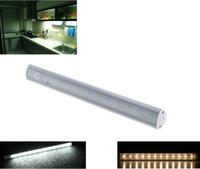 Wholesale 30cm SMD LED Under Cabinet Light PIR Motion Sensor Lamp Kitchen Wardrobe Cupboard Closet Energy Saving LED Strip