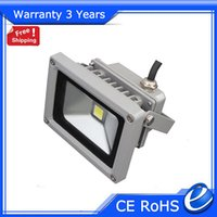Wholesale 10W V LED Flood Light LED Floodlight Fixture Outdoor Epistar Chip DC12V Warranty Years Lifespan H CE RoHS FCC