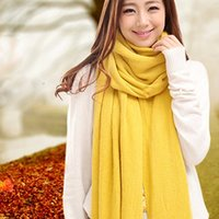 Wholesale Yiwu red scarf winter scarf wool scarves Korean winter high inventory models female models scarf trade