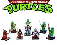 ninja turtles - Christmas Gift SY176 Teenage Mutant Ninja Turtles Toys Blocks Minifigures Building Blocs Tortugas Ninja DIY Bricks Ninja Turtles For Kids