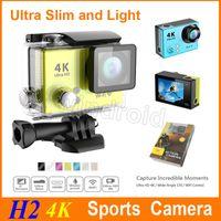 H2 Ultra HD 4K Vidéo ultra mince lumière 170 Wide Angle Sports Action Caméra 2