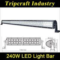 "Cheap HOT!Epistar 240W 41"" LED Offroad Work Light Bar 80*3w Spot & Flood Beam Combo Day Time Running Lamp 12V 24V Car Truck"