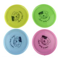 best dog frisbees - Hot Salw Best seller New Large Dog FRISBEE Trainning Puppy TOY Plastic Fetch Flying Disc Frisby zk