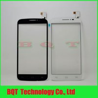 touchscreen - Black White TouchScreen Digitizer Glass Panel For Alcatel One Touch Pop C7 Dual D E D