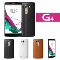 g4 cell phone - 1x Factory Unlocked G4 H815 Cell Phones Android RAM MB ROM GB inch qHD Screen Dual Camera G WCDMA Leather Black White Brown