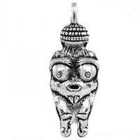 Fertility - Charm Pendants Venus Of Willendorf Fertility Goddess Pregnancy Antique Silver x1 cm Mr Jewelry