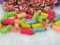 Wholesale Full shipping resin crayon cabochons for DIY phone case decoration pendant
