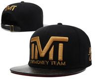 Wholesale New TMT Cap Sport Baseball Caps The Money Team Snap Back Hat For Men Hip Pop Cheap Snapback Hats Snapbacks