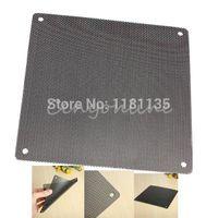Wholesale 5pcs mm PC Fan Dust Filter Dustproof Case Computer Mesh can cut for smaller fans