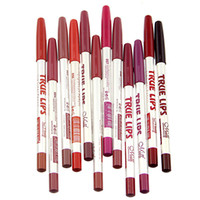 Wholesale Brand Make Up True Lips Color Lip Liner Pencil Waterproof Professional Lip Liner Cosmetic Tools
