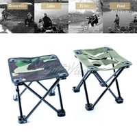bench bag - Oxford Cloth Outdoor Folding Fishing Stool Chair Portable Bench Tackle with Carrying Bag