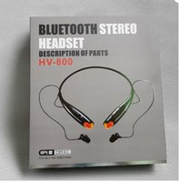 bluetooth headphones - HV800 HV HV EDR Stereo Sport Neckband Headset Wireless Bluetooth Headphones Earphone For LG iPhone Samsung