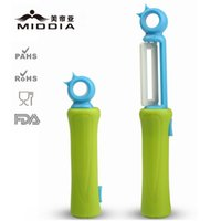 ceramic blade knife - Middia ceramic blade peeler High Quality Fruit and Vegetable Ceramic Knife Peeler Kitchen very convenient for camping
