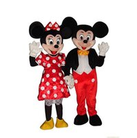 Wholesale High Quality Mickey Mascot Costumes Cartoon Character Fancy Suit Walking Cartoon Clothing Birthday Halloween Xmas Party Dres