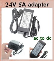 Wholesale universal ac dc power adapter ac v v to dc power adapter charger w a v power supply for rgb led strip dhl free ship DY013