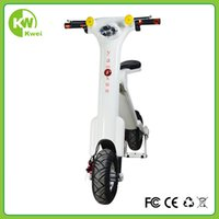 Wholesale Folding mini scooter fashion design hottest e scooter for adult and youngster with lithium battery W battery