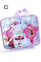Cheap Hot Frozen Party Hair Accessories Backpacks (1 Mirror+1 Comb+2 Hairpins+6 Hair Ropes+1 Bag) Birthday Gift Set For Baby Backpacks ePacket