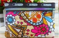 Wholesale 30pc new high quality Lady women s Multi functional make up bag cosmetic bag coin bag many color choice